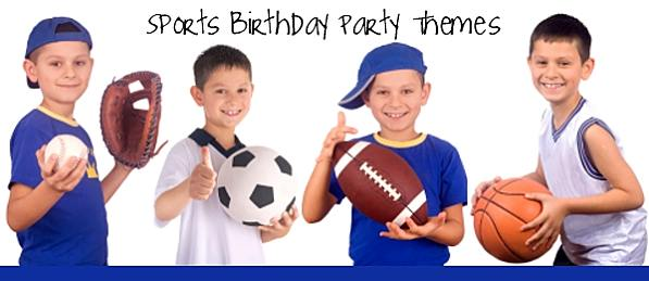 birthday parties for kids - Sports Images For Kids